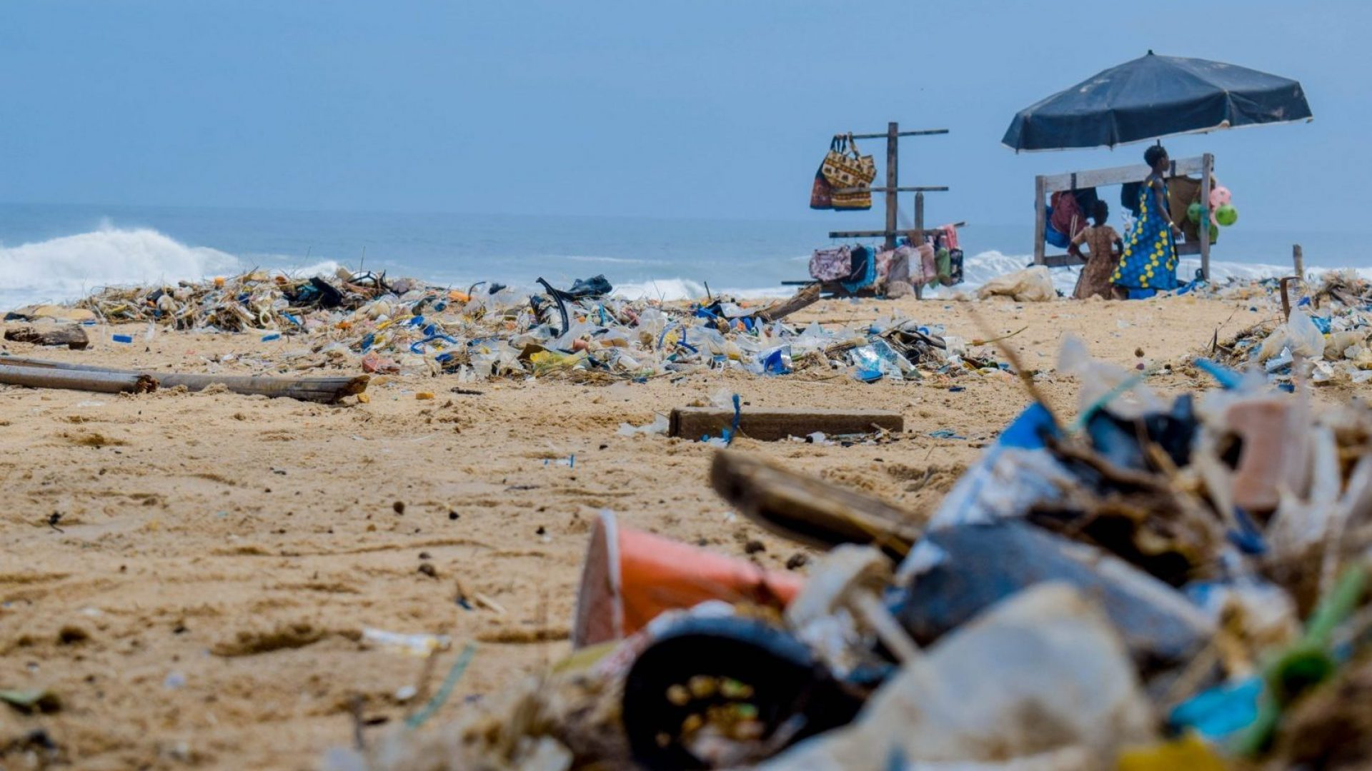 Lost at sea: Our ocean's plastics pollution problem