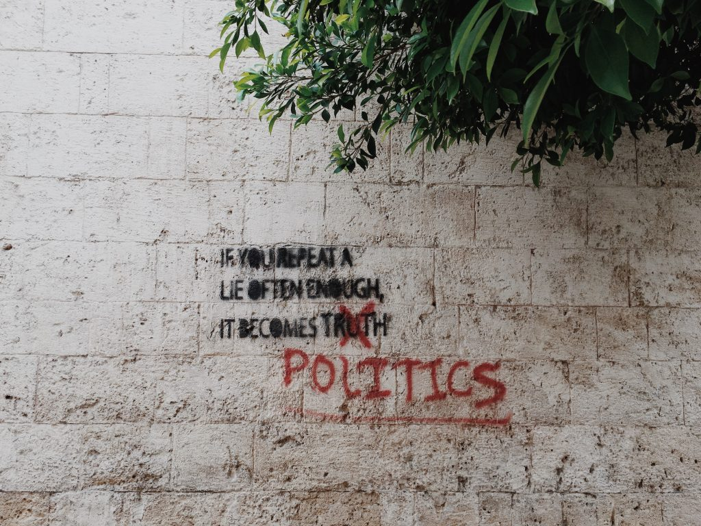 Climate Change Denial graffiti