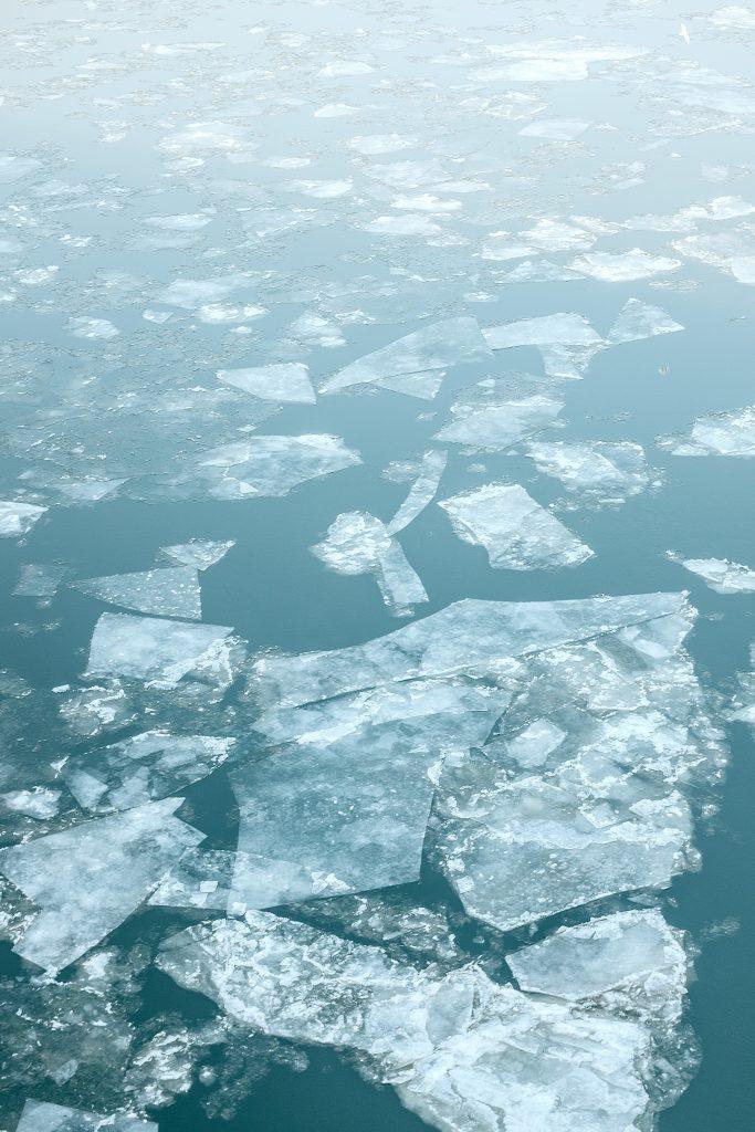 Sea level rise and melting sea ice