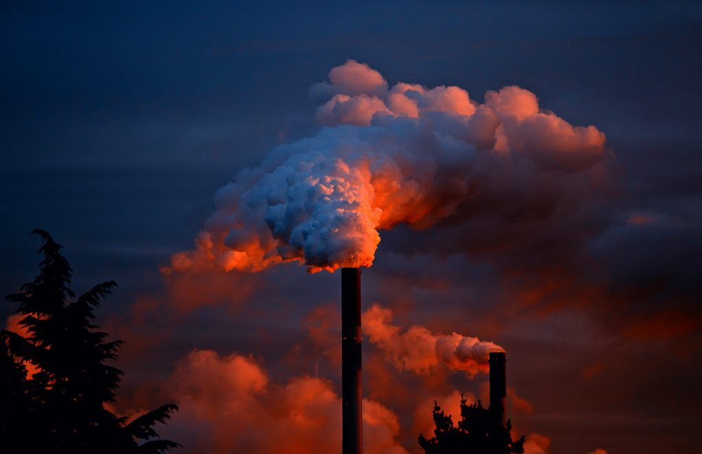 Pollution one of the main climate change causes