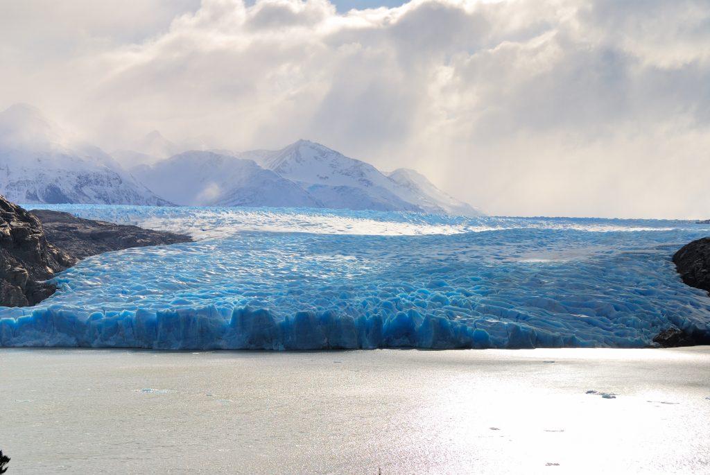 melting glaciers cause sea level rise